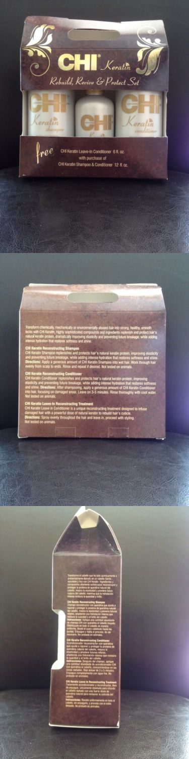 Sets and Kits: Chi Keratin- Rebuild, Revive And Protect Set -> BUY IT NOW ONLY: $49.99 on eBay!
