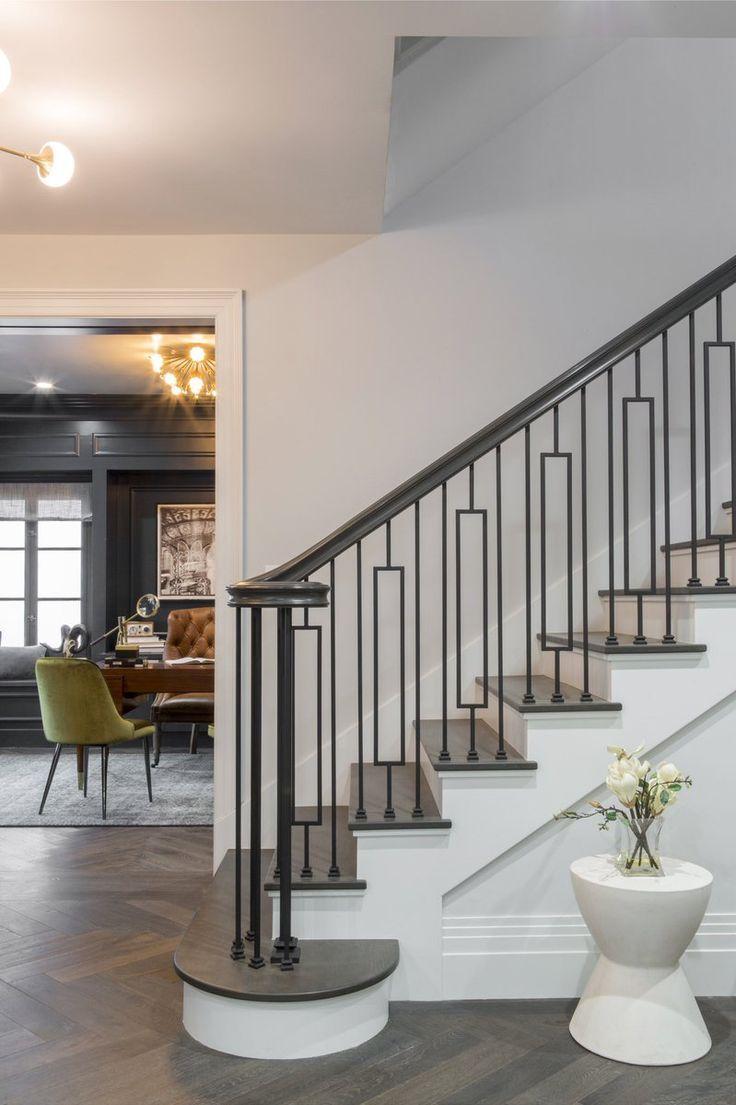 Drew Scott On Twitter Home Stairs Design Stairs Design | New Home Stairs Design | Beautiful | Entrance | Iron | Stairway | Wall