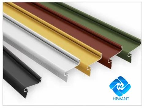 Colorful aluminium alloy product—— Powder coating aluminium profile from Hiwant.