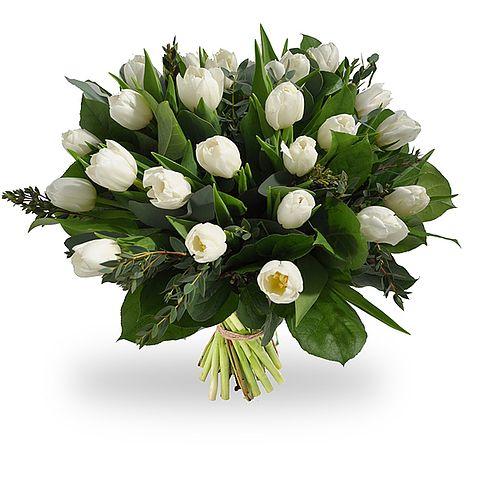 Witte tulpen te bestellen bij Boeketten.nl