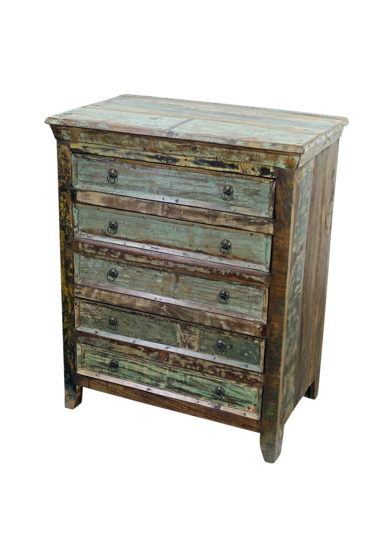 Paint colors for distressed furniture - Mexicali Rustic Wood Dresser Old World Bedroom Furniture