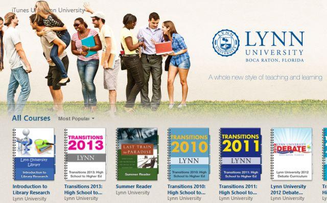 Lynn University to drop Blackboard Learn in favor of iTunes U | Inside Higher Ed
