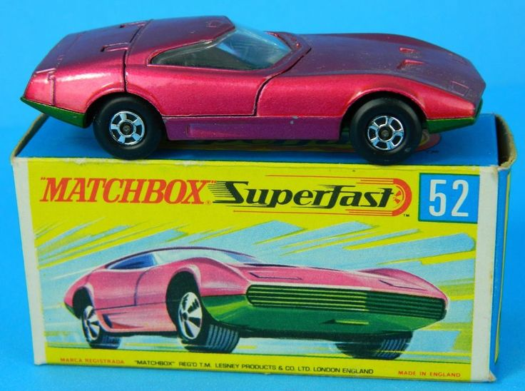 040 Matchbox Lesney Series 52 Car Amp Original Box