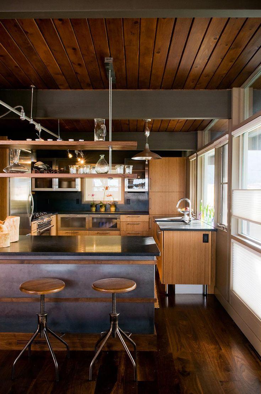 25 best mid century rustic ideas on pinterest mid. Black Bedroom Furniture Sets. Home Design Ideas