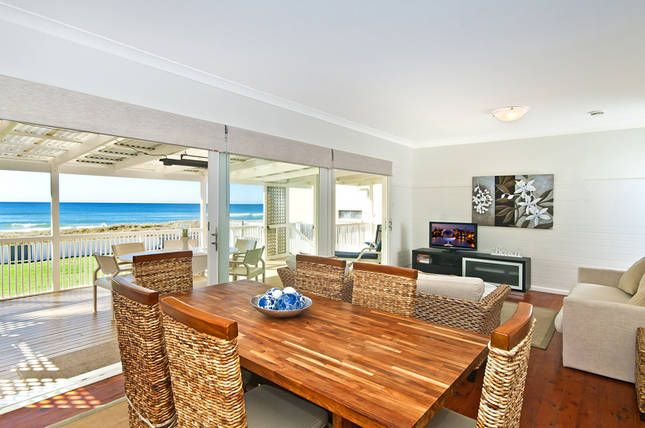 Gold Coast Beach Front House, a Gold Coast Waterfront House | Stayz
