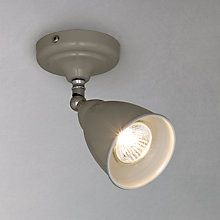 Buy John Lewis Plymouth Single Spotlight  in Taupe Online at johnlewis.com