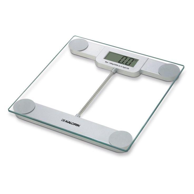 Kalorik Precision Digital Glass Bathroom Scale   EBS 39693. 17 Best ideas about Glass Bathroom Scales on Pinterest   Burn fat