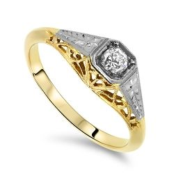 Antique Design Diamond Ring