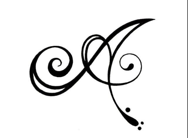 Molto modelli di tatuaggi av75 pineglen for Idee tatuaggi lettere