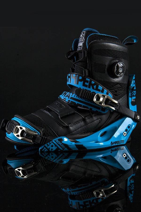 Hyperlite Marek Boots w/ Limited Edition System Bindings. #hyperlite #wakeboard #wakeboarding