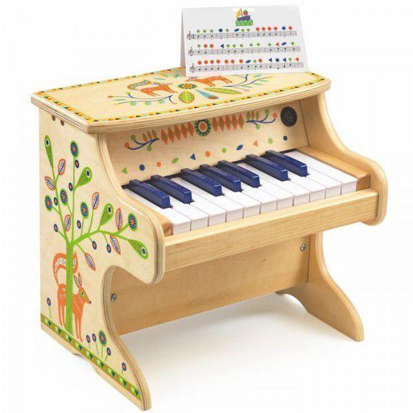 Cena: 399.00zł. Eksresowa wysyłka od ręki. PIANINO ELEKTRONICZNE - 18 KLAWISZY francuskiej firmy... więcej na www.Tublu.pl #tublu #tublu_pl #zabawka #zabawki #dla #dzieci #toy #for #kid #piano #pianino #vilac