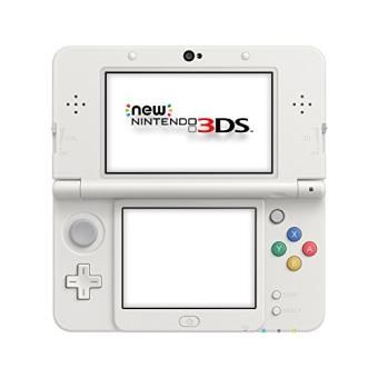 Console Nintendo New 3DS Blanc