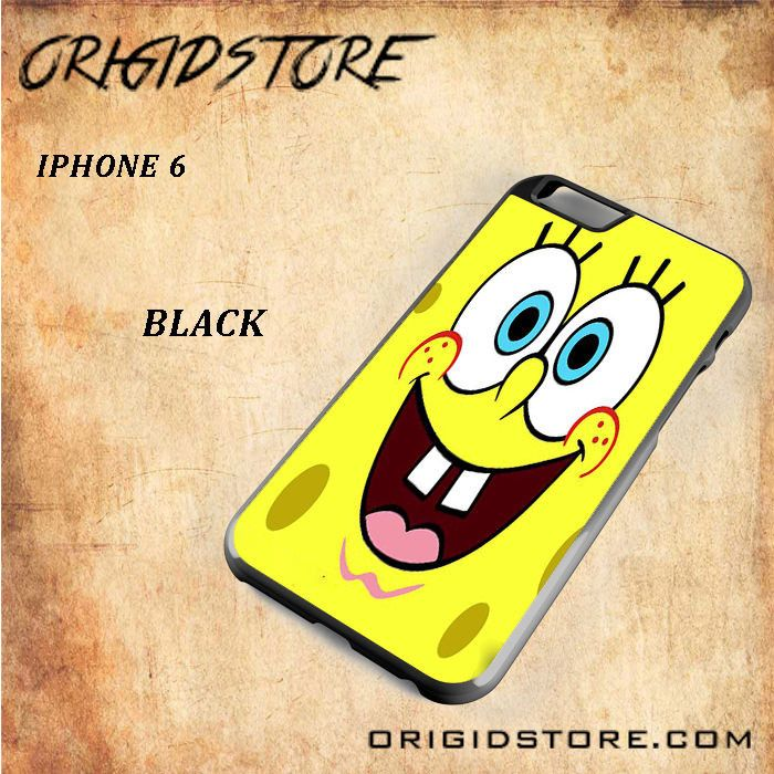 Smile Spongebob For Iphone 6 Snap On and 3D Case