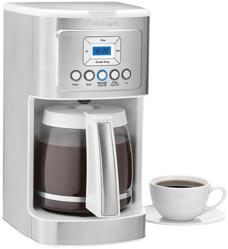 Electric Coffee Maker 14Cup Coffeemaker Automatic Small Kitchen Bar Glass Carafe #Cuisinart