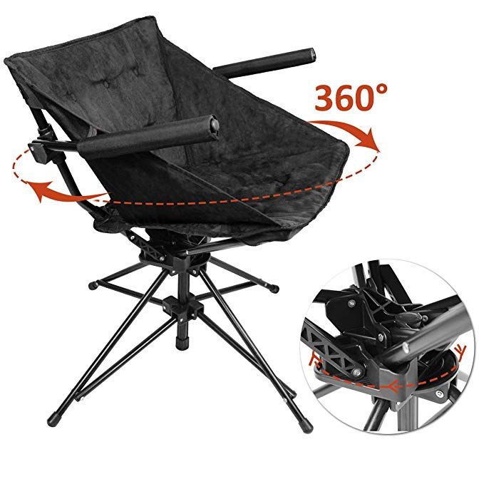 Zenree Collapsible Camping And Sports Hunting Chairs Comfortable