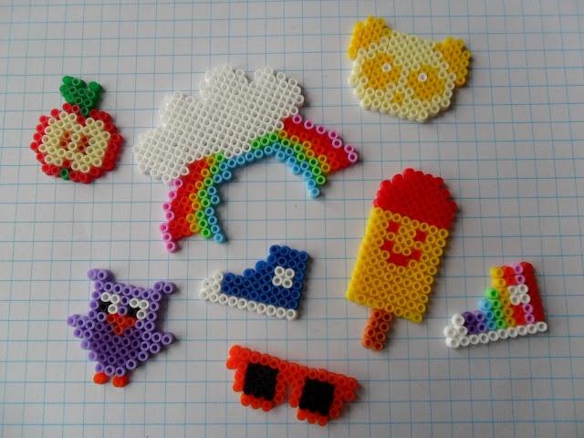 Hama beads crafts by Krea Sabi