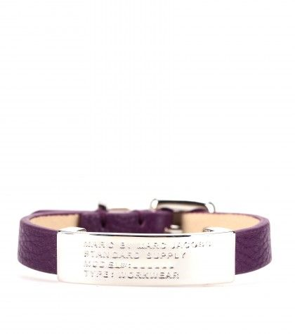 #MarcbyMarcJacobs - STANDARD SUPPLY LEATHER BRACELET