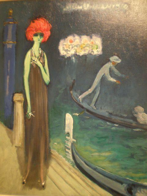 Kees van Dongen 'The Quai, Venice', ca. 1921, Milwaukee Museum of Art