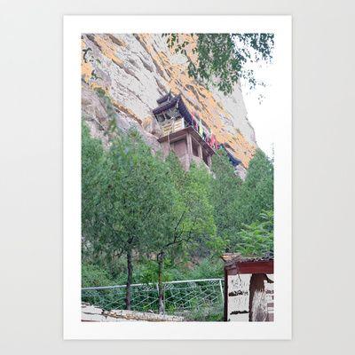 Mountain Villa Art Print by lookiz - $16.64