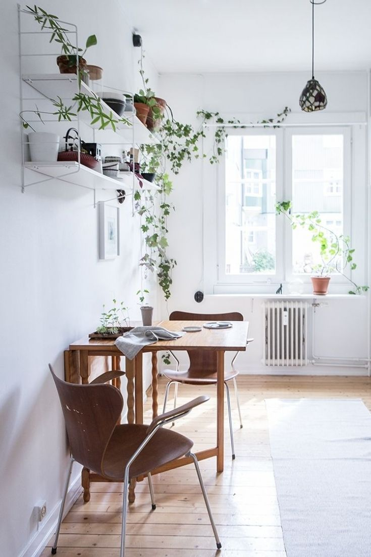 Lovely Small Kitchen Table For Studio Apartment Small Apartment