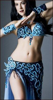 another beautiful bellaTone Bra, Bellydance