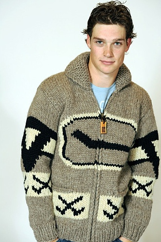 Mason Raymond of the Vancouver Canucks. Love the Cowichan wool Canucks sweater!!
