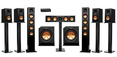 Home Theater Systems: Klipsch Rp-Hd Wireless 7.2 Home Theater System -> BUY IT NOW ONLY: $3893 on eBay!