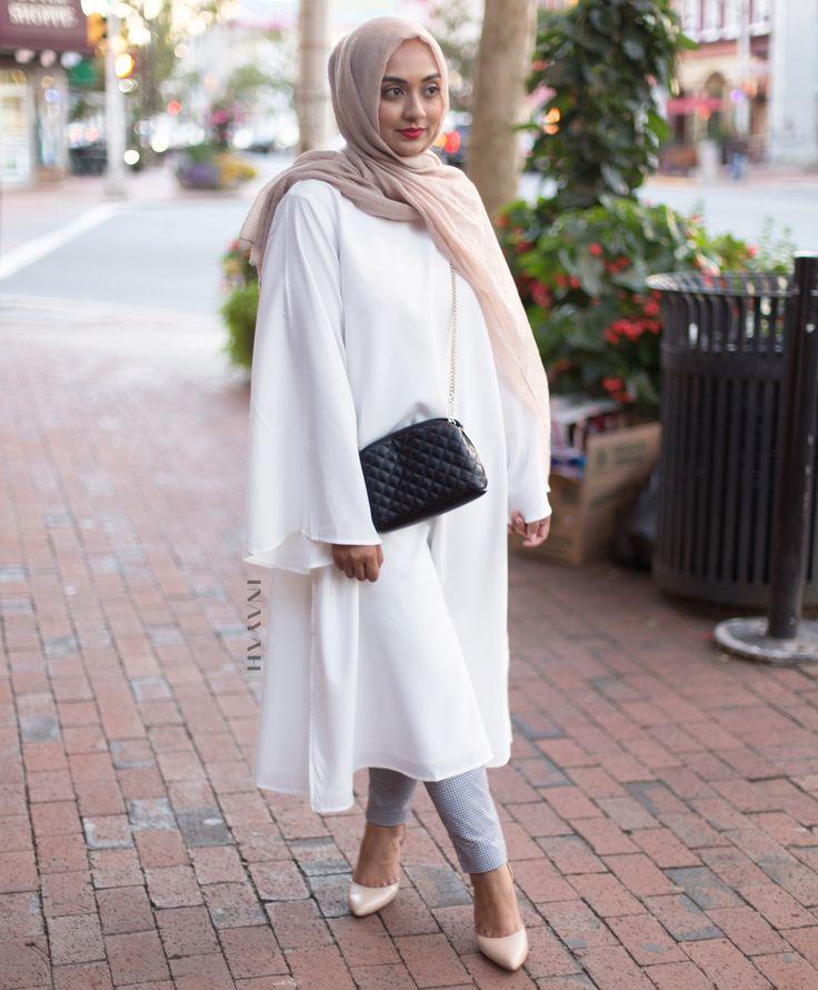 INAYAH | White #Kimono #Midi - www.inayah.co