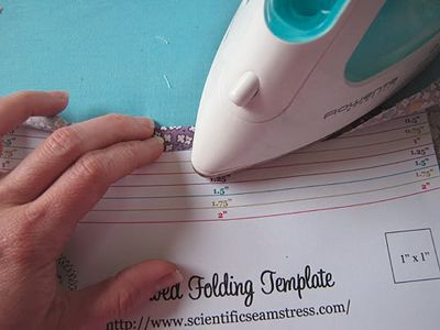 template for hemming- why didn't i think of this: Idea, Scientific Seamstress, Sewing Projects, Sewing Tips, Sewing Help, Sewing Technique, Free Folding