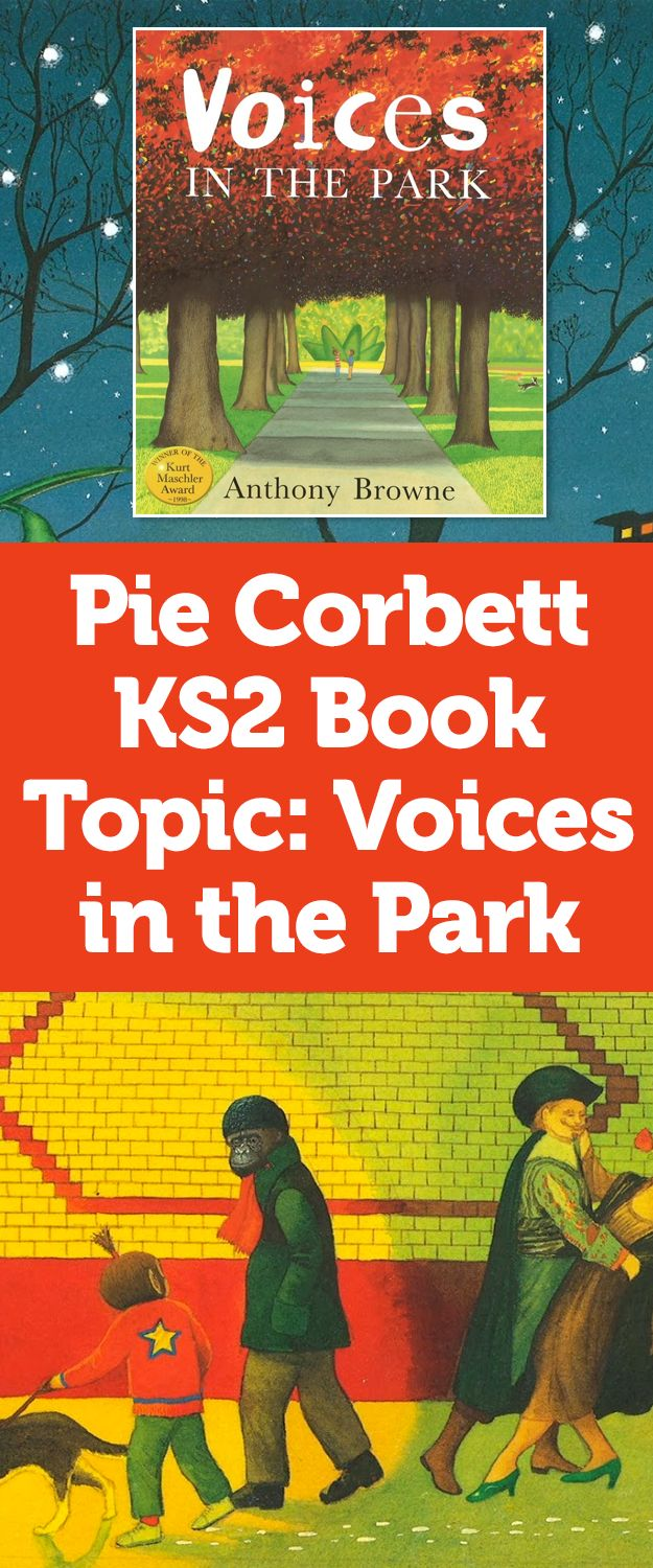Ks2 Book Topic: Voices In The Park  Teach Primary