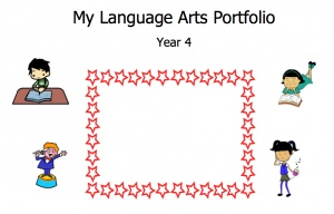 Year 4 Student Portfolio - Language Arts ready to download here.