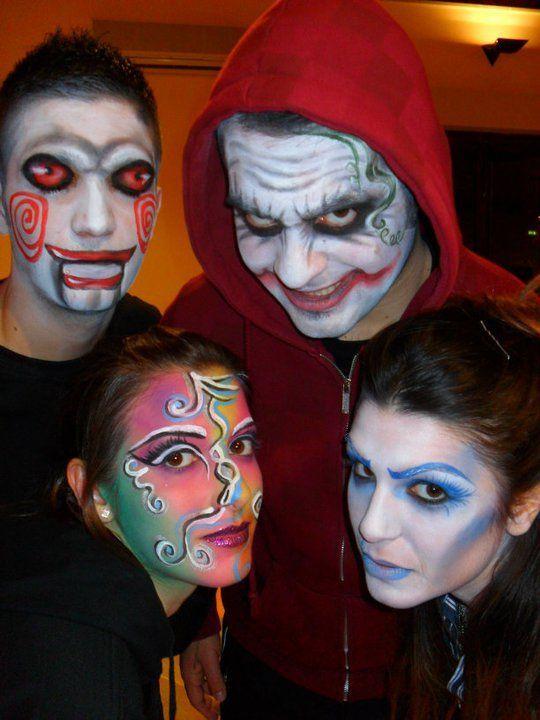 Body Painting... Saw...Joker...Colors...La Sposa Fantasma