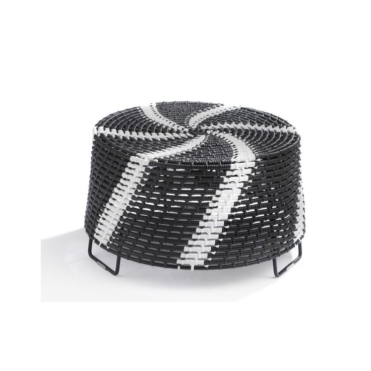 Zulu mama side tables |  Designer: Haldane Martin |  The iconic zulu mama side table in an integration of south africa's first and third world reality by combining indigenous zulu basket weaving craft with modern materials.