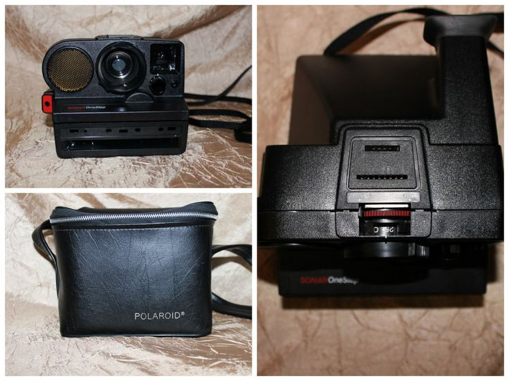 Vintage Polaroid Sonar One Step Camera SX 70 Film Land Camera SLR Made in USA #Polaroid
