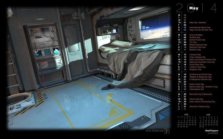Sci fi bedroom google search future home pinterest for Sci fi decor