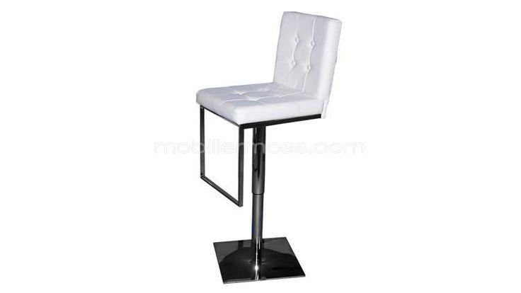 tabouret de bar design assise 60 82cm zib bar. Black Bedroom Furniture Sets. Home Design Ideas
