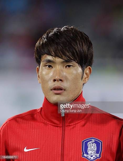 Han KookYoung of South Korea poses during the international friendly match between South Korea and Mali at Cheonan Baekseok Stadium on October 15...