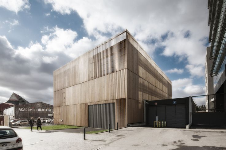 """Built by Antonini + Darmon Architectes in Saint-Denis La Plaine, France The project is located in an urban controlled BIA """"Landy-Pleyel.""""   It enjoys an exceptional location with unobstruct..."""