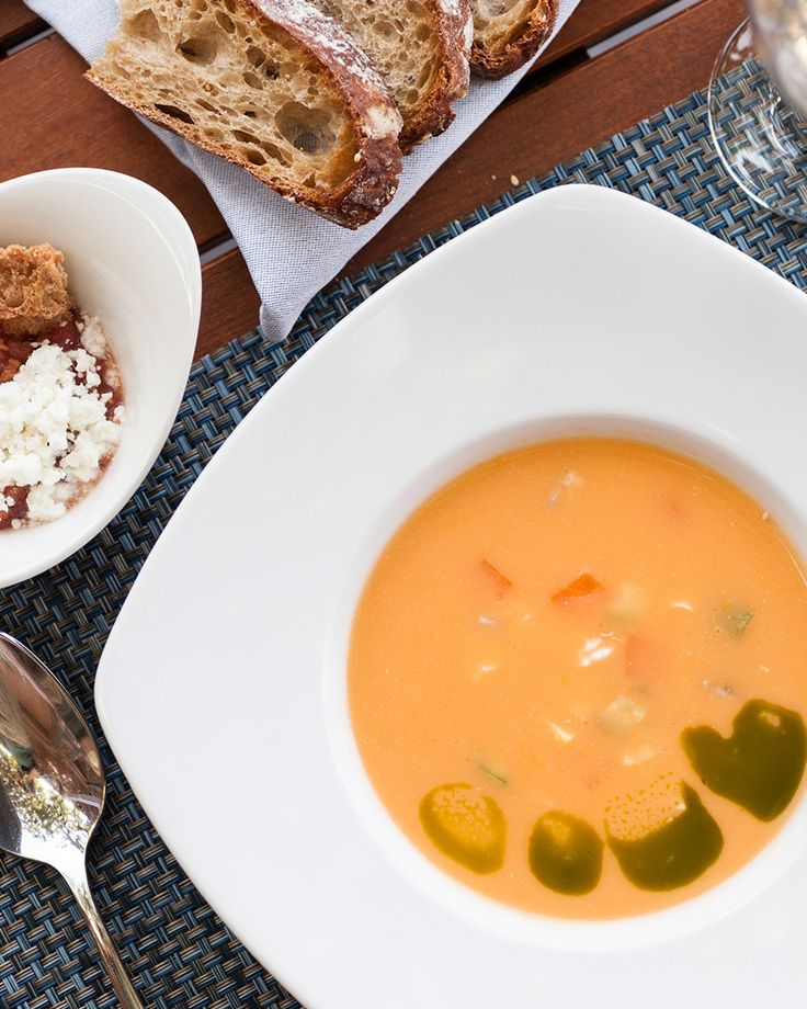 Kakavia fish soup cooked and served with love. Taste it at the Taverna!