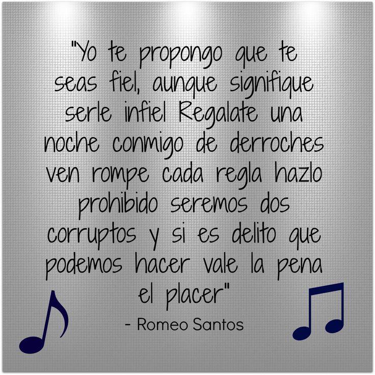 Vale la pena el placer- Romeo Santos