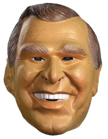 PRESIDENT GEORGE W. BUSH HALLOWEEN MASK Latex Full Head Realistic Halloween MASK