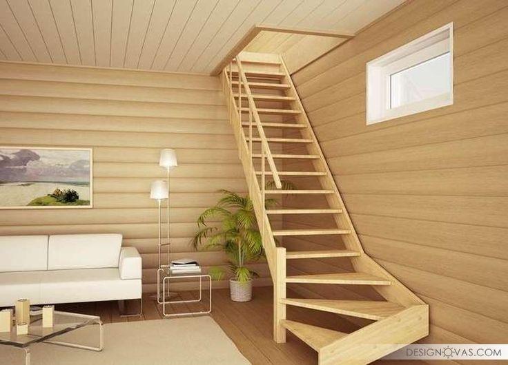 Лестницы на второй этаж в частном доме. 133 фото | Красота