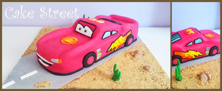 McQueen Cake!