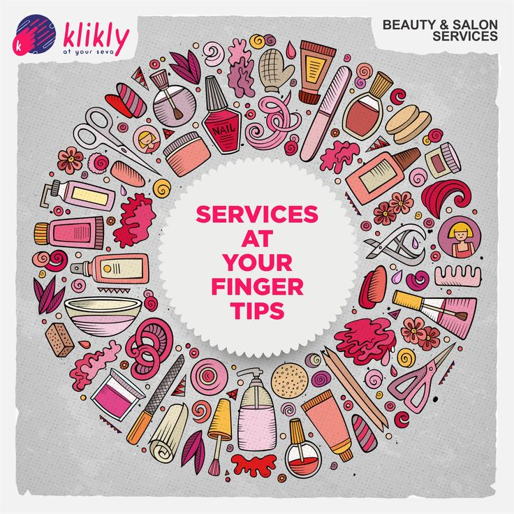 Be your own kind of beautiful. Book at salon at the convenience of your home with just a Klik!  Right here, right away