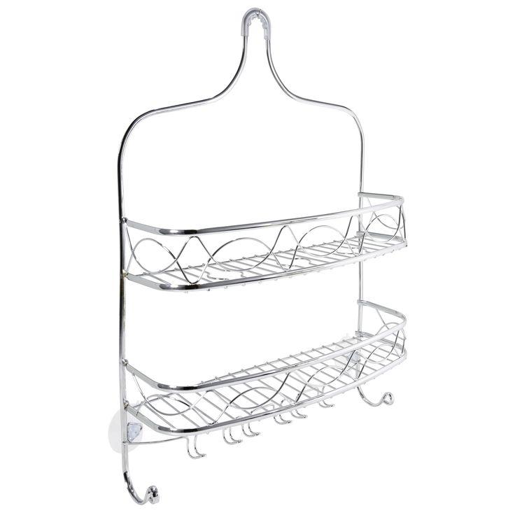 International Bath Bliss Curved Crown Design Shower Caddy