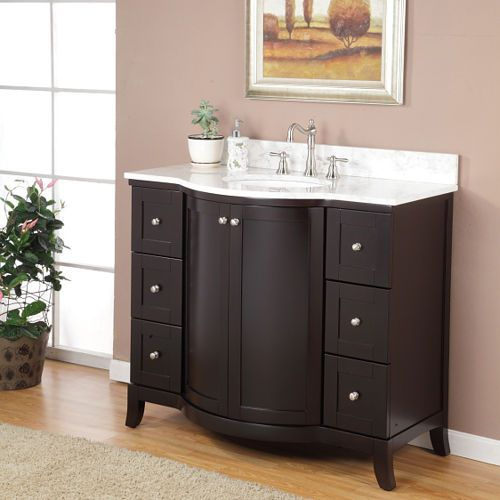 "Bathroom Vanity Ideas Pinterest: Astoria 42"" Single Sink Vanity By Valore"