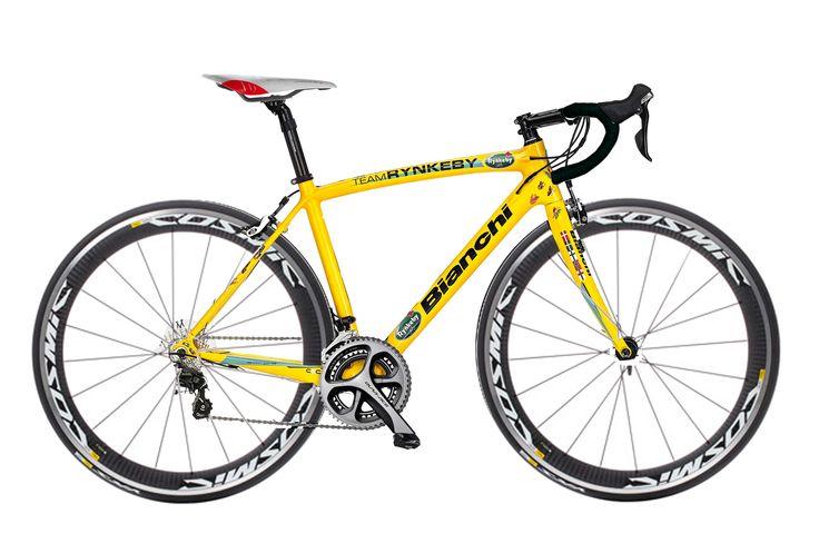Bianchi Team Rynkeby 2015 modifisert