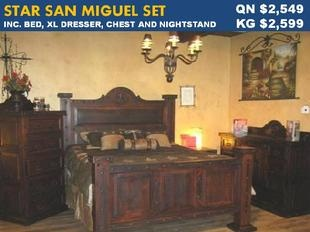 Rustic Furniture Depot Grand Hacienda Bed In Old West Stain.