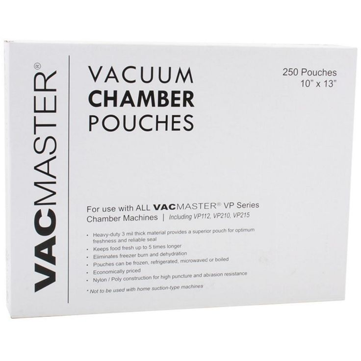 Use Vacmaster X 3 Mil Chamber Sealer Pouches To Seal Up Your Soups Stews And Sauces This Is A Pack Of 500 Bags