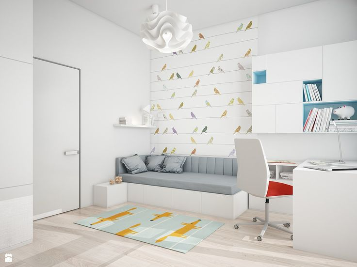 pokój dla dziewczynki - zdjęcie od Projektownia Wnętrz - Pokój dziecka - Styl Nowoczesny - Projektownia Wnętrz
